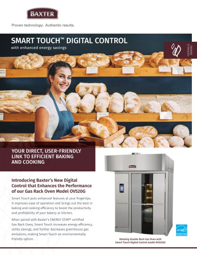SMART TOUCH™ DIGITAL CONTROL