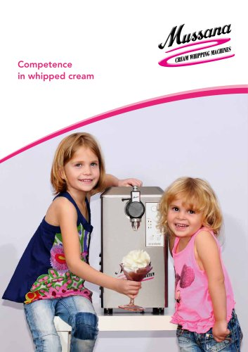 Competence in whipped cream