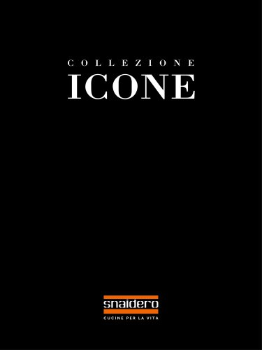 Catalogue Collection Icone - Snaidero