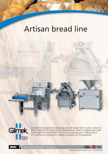 Glimek Artisan Bread Line