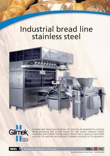 Glimek Industrial Bread Line with MO-360