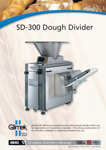 Glimek SD-300 Dough Divider