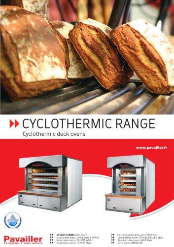 CYCLOTHERMIC RANGE