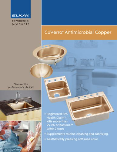 CuVerro® Antimicrobial Copper