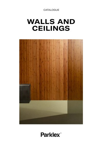 Walls and Ceilings