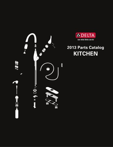 2013 Delta Parts Catalog - Kitchen