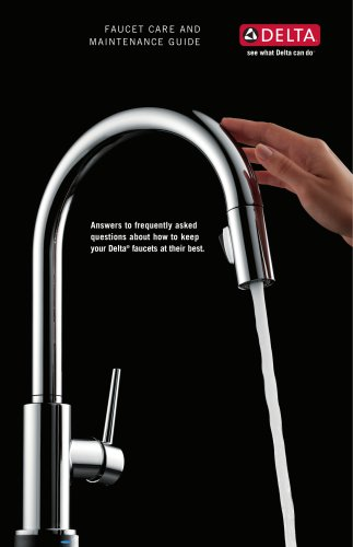 Delta Faucet Care and Maintenance Guide (DL-1767)