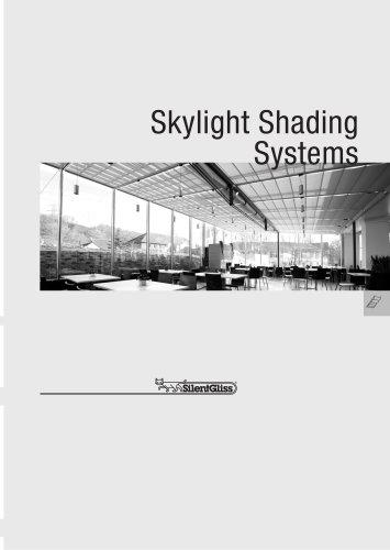 Skylight Shading Systems