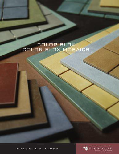 Color Blox / Color Blox Mosaics Brochure