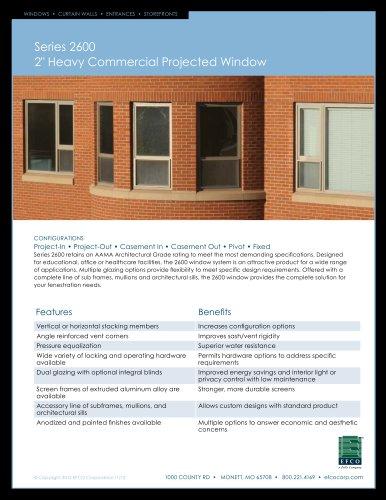 Series 2600 - EFCO - PDF Catalogs   Documentation   Brochures