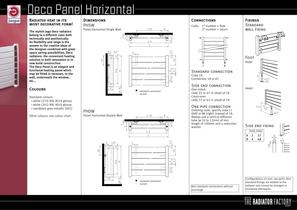 Deco Panel Horizontal - 2