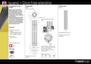 Iguana  Circo Free-standing - 2