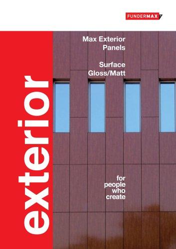 Brochure | Max Exterior - Surface NG/NM