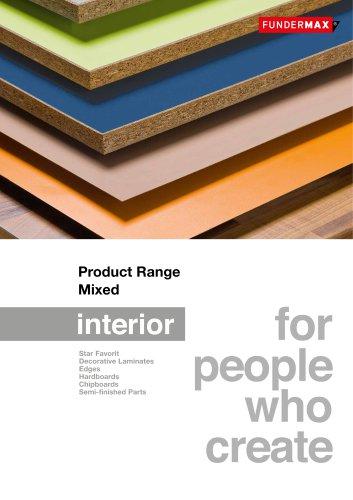 Product Range Mixed
