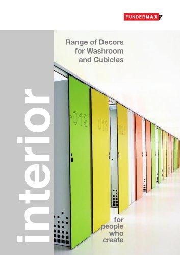Range of decors | WASHROOMS