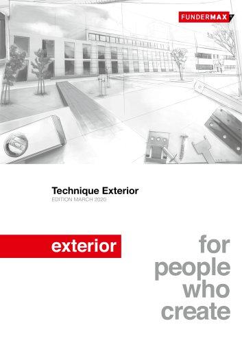 Technique Exterior EDITION MARCH 2020