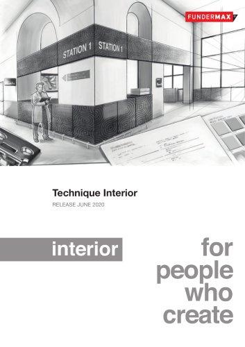 Technique Interior RELEASE JUNE 2020