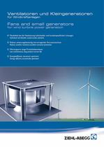 Fans and small generators