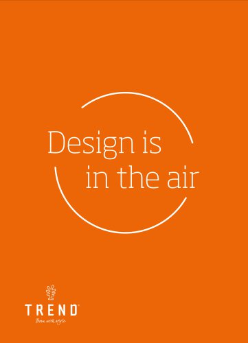 Design is in the air Catalogue 2018