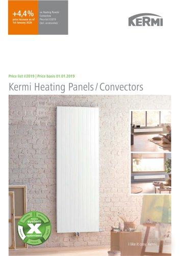 Kermi Heating Panels / Convectors