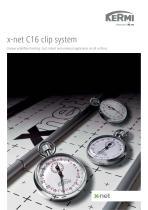 x-net C16 clip system
