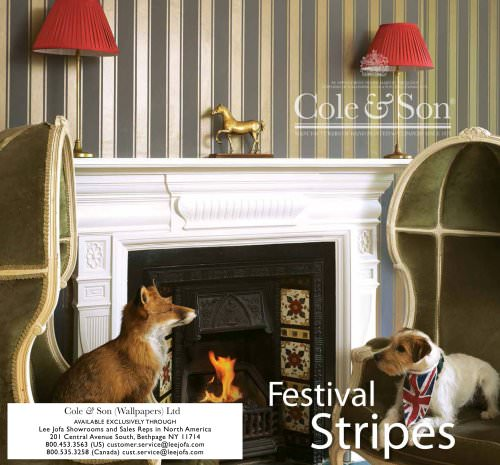 Cole &Son: Festival Stripes