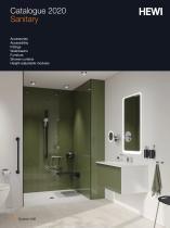 HEWI Catalogue Sanitary 2020 - 1