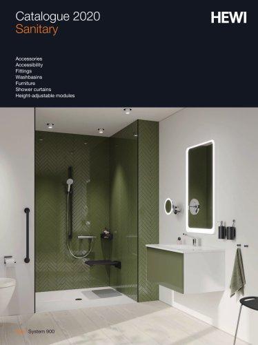 HEWI Catalogue Sanitary 2020