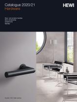 HEWI Hardware Catalogue 2020/21 - 1