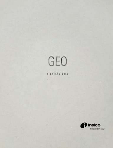 GEO MONOGRAPHIC CATALOGUE