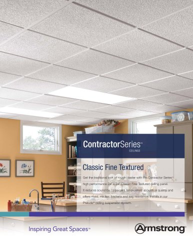 Contractor Series Classic Fine Textured