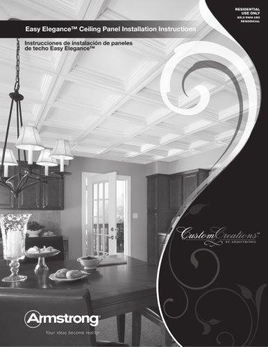 Easy Elegance Ceiling Panel Estimating & Installation Guide