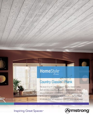 HomeStyle Country Classic Ceiling Planks