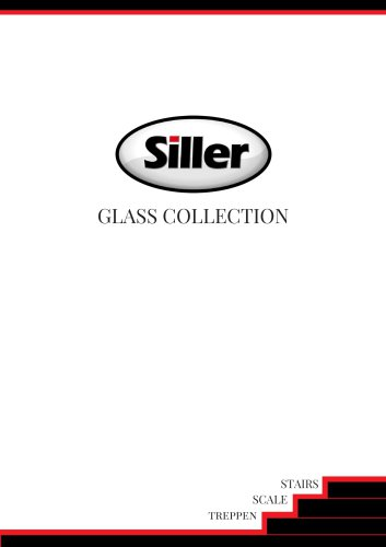 Siller Stairs glass brochure