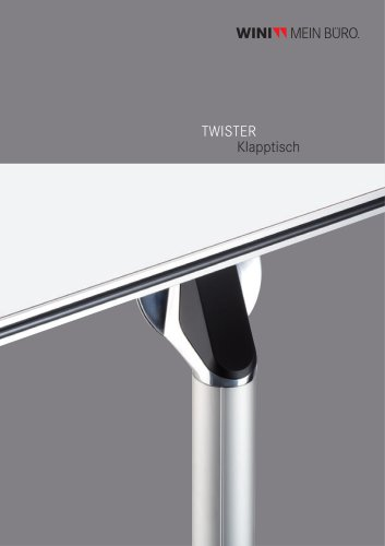 TWISTER Folding table