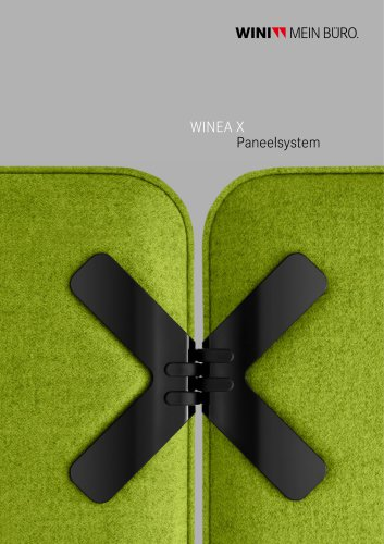 WINEA X Panel system