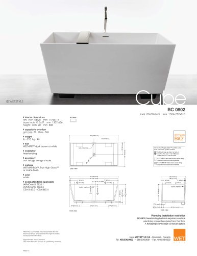 BC 08-02 The Cube Collection