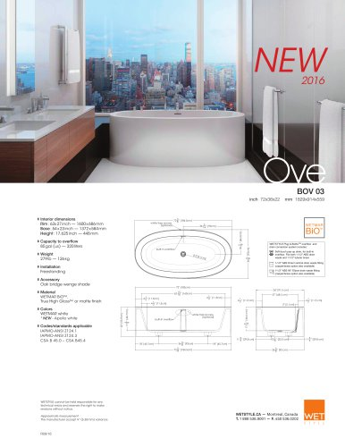 BOV 03 - NEW The Ove Collection