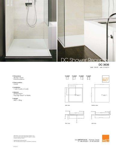 DC Shower Receptors