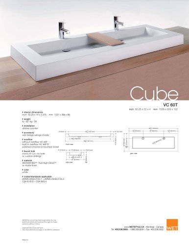 VC 60T The Cube Collection