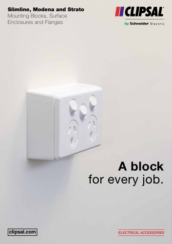 A block for every job
