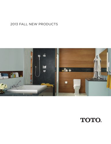 2013 FALL NEW PRODUCTS