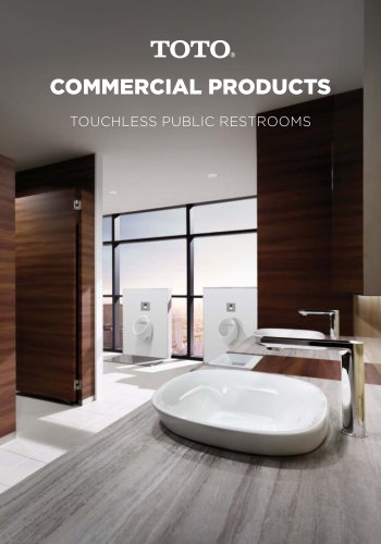 COMMERCIAL PRODUCTS TOUCHLESS PUBLIC RESTROOMS