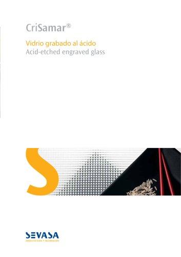 CriSamar Brochure Engraved Glass - architectural & decoration