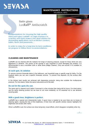 LuxRaff® Antiscratch