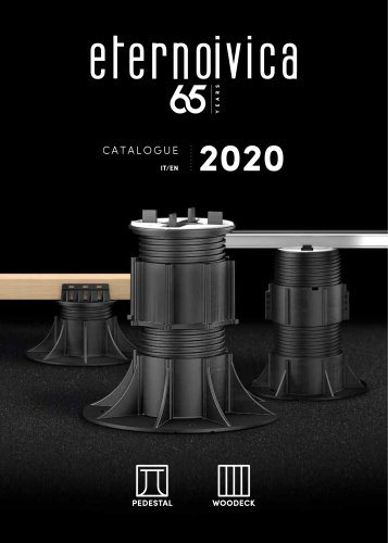 CATALOGUE 2020 Pedestal_Woodeck