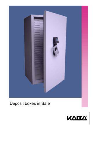 Deposit boxes in Safe