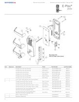 Electronic Lock Parts Price Book - 8