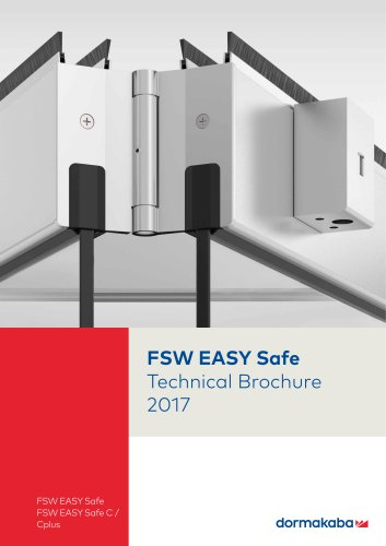 FSW EASY Safe Technical Brochure 2017