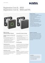 Registration Unit SL - RFID - 1